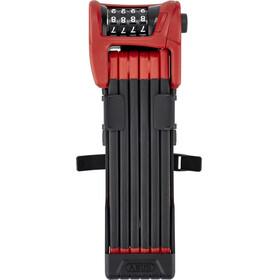 ABUS Bordo Combo 6100/90 SH Fietsslot rood/zwart